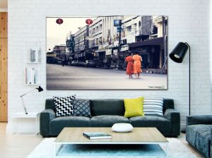 Monjes Budistas en tu salón.