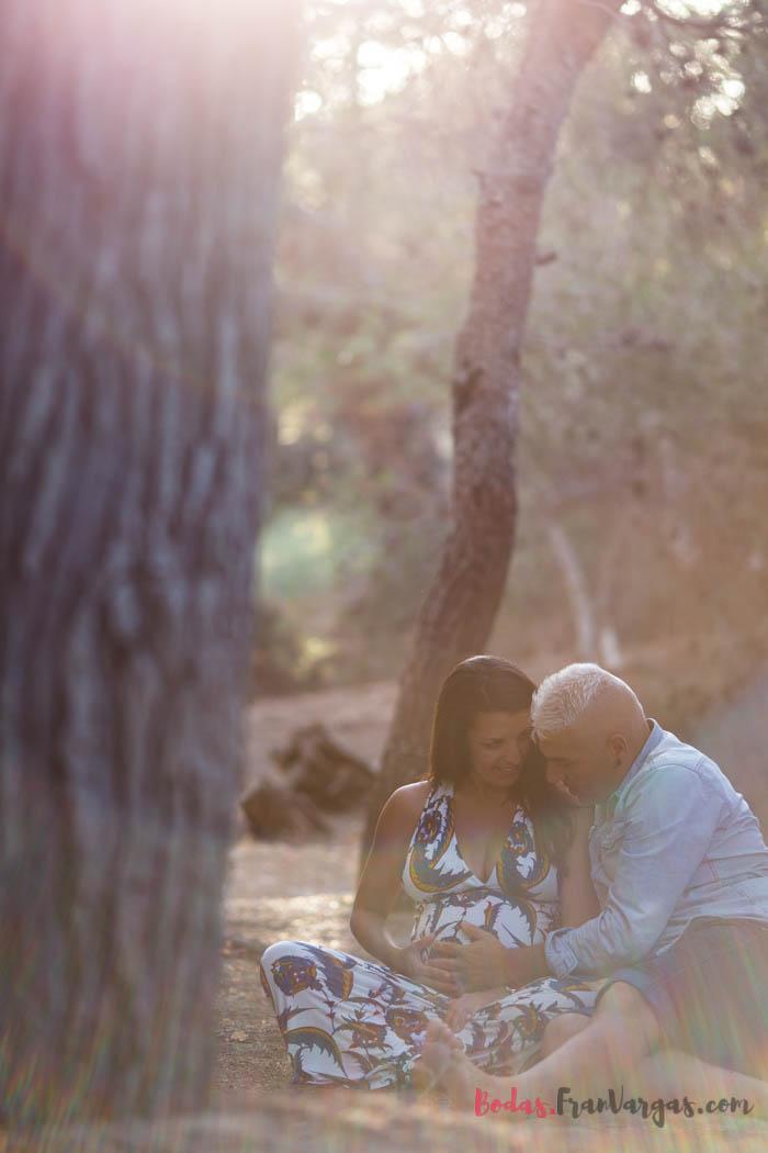 Sesión de fotos embarazada Málaga   Fotógrafo Málaga